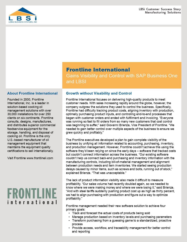 Frontline International